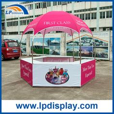 Hot Sale Booth 10x10 Promotional Portable Kiosk dome tent