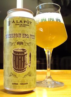 Session IPA VIII - À La Fût via craftbeerquebec.ca #sessionipa #dégustation…