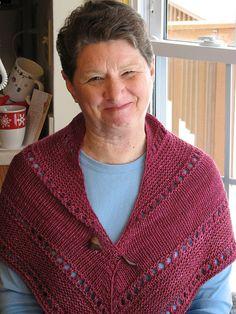 Aurora shawl - free on Ravelry
