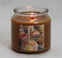 Nothing's better than a caramel apple on an autumn day... even better when it's a candle! #harvestsunset #caramelapple