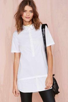 White Lies Shirtdress
