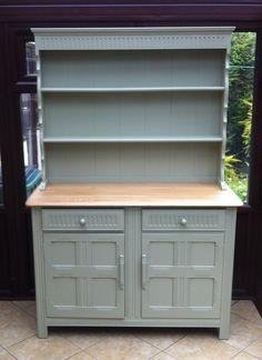 Now Sold Upcycled Vintage Oak Welsh Dresser