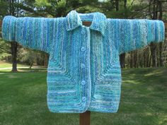 Hand Knit Baby Sweater by KingstonAlpacaKnits on Etsy