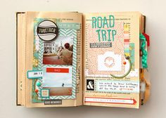 deb duty {photography + scrapbooking}: altered book: happy little moments