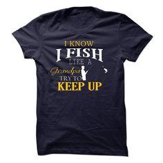 LIMITED EDITION - FISH LIKE A GRANDPA T-SHIRT T Shirt, Hoodie, Sweatshirt