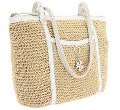 DKNY beach handbag. Ok - it's not really nautical, but it is lovely.
