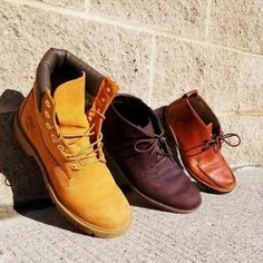 Whats your timberland style? No matter what you like, we have something for you 👞 Mens waterproof boots size 10 - $70 Dark brown leather size 10 - $60 Light brown leather size 8 - $60  #timberland #leather #mensfashion #winterfashion #winterboots #casual #cashonthespot #laurieruniversity #connestogacollege #waterloouniversity | www.platosclosetcambridge.com
