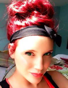 Red hair :D so happy. Pravana red vivid and 6cr!!!!
