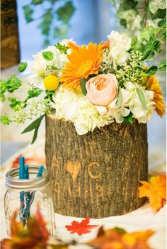 16 Old Tree Stumps Turned Into Beautiful Flower Planters - Magazine Face