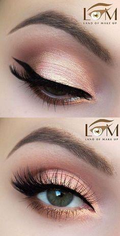 9 Makeup Tips and Tricks to Make Your Eyes Look Brighter - Trend To Wear #makeuptips #glammakeuplooks #Eyemakeuptipsandtricks