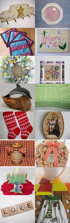 LET'S DECORATE by Maryann on Etsy--Pinned with TreasuryPin.com