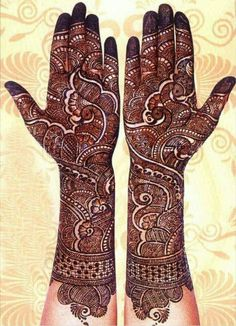 Here are the best bridal mehndi designs 2019 trends in India and Pakistan. Beautiful traditional henna designs are most popular all around the world. Wedding Henna Designs, Indian Mehndi Designs, Latest Bridal Mehndi Designs, Full Hand Mehndi Designs, Mehndi Designs 2018, Mehndi Designs Book, Mehndi Design Pictures, Modern Mehndi Designs, Mehndi Images