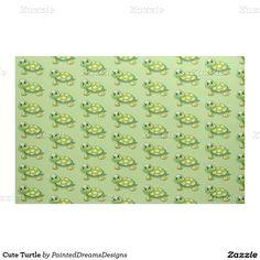 http://www.zazzle.com/cute_turtle_fabric-256552690277638094