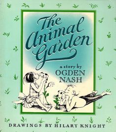 COLLECTIBLE FIRST EDITION: The Animal Garden by ForsythTreasures