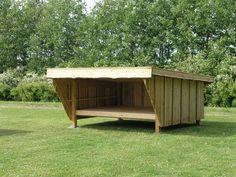 Kalmar Shelter samlesæt i 3,0 m x 2,2 m indv. Samtlige materialer medleveres - sider og bagvæg er samlet. Pris fra 12.500,-
