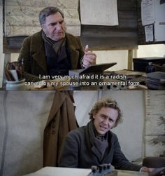 Oh my goodness this was my favorite line in the film... Return to Cranford