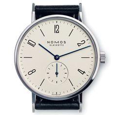 Nomos Tangente Gentlemen's Watch, Steel Back - Manufactum
