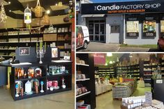 The Candle Factory Shop - Cape Town factory shops - Photos by Rachel Robinson
