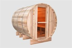 Traditional sauna room | Barrel Sauna Outdoor
