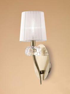 Aplique cuero 1 luz LOEWE - La Casa de la Lámpara