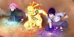 Naruto Manga - Team 7 - Kuchiyose no Jutsu