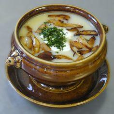 RECIPE: Soup with fried mushrooms # mushroom # fried # soup # cream # cream # mushroom # soup # soup # soup recipes, Soup Recipes Creamy Mushroom Chicken, Creamy Mushrooms, Mushroom Soup, Stuffed Mushrooms, Fried Mushrooms, Creamy Soup Recipes, Chicken Soup Recipes, Denmark Food, Ham Soup