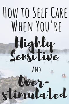 This self care guide is just in time for the holidays--the overstimulation nightmare! Here are 5 ways to care for your self as a Highly Sensitive Person. Ich Bin Dick, Affirmations, Quotes Thoughts, Sensitive People, Highly Sensitive Person Traits, Self Care Activities, Elderly Care, Self Care Routine, Coping Skills