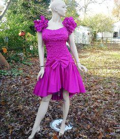 Terrific Jessica Mcclintock Dress Jessica Mcclintock 80S Party And Tea Hairstyles For Women Draintrainus