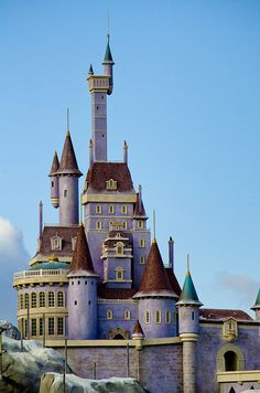 Beast's Castle in Fantasyland Did a great job on the new Fantasyland