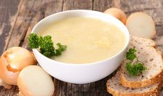 Romige uiensoep - Becel ProActiv Fondue, Oreo, Mashed Potatoes, Cheese, Ethnic Recipes, Lunches, Pasta, Gourmet, Parsley
