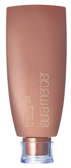 Adding this Laura Mercier bronzing gel to the summer make-up routine: the lightweight, sheer gel enhances a tan and adds a warm, sun-kissed glow instantly.