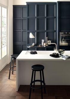 arbeitsplatte corian kche dupont kchentheke weiss designn minimalistisch wohnideenkuche kitchen dupont design - Corian Arbeitsplatten Lowes