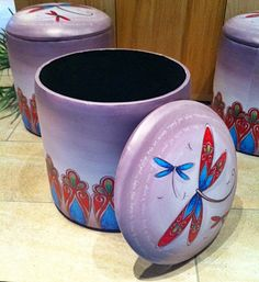 Small Storage, Ottoman, Lisa, Home And Garden, Make It Yourself, Tableware, How To Make, House, Collection