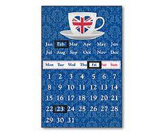 Magnetische kalender Magnus, H 38 cm