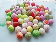 """Parvada"" hollow beads #Polymer #Clay #Tutorials"