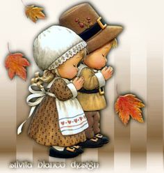 Thanksgiving Pictures, Thanksgiving Greetings, Holiday Pictures, Fall Pictures, Cute Pictures, Fall Pics, Holly Hobbie, Meninos Country, Tole Painting