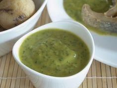 Esta receta mojo picón de cilantro es perfecta para carnes rojas.