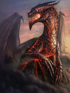 awesome dragon <3