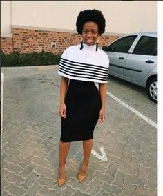 New Xhosa Traditional Dresses Designs - Spiffy Fashion Xhosa Attire, African Attire, African Wear, African Women, African Dress, Tribal African, African Style, Traditional Dresses Designs, African Traditional Dresses