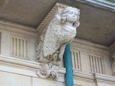 Detalle, balcón.