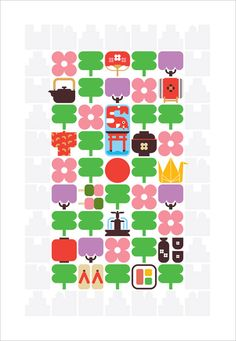 This graphic Japan Day art­work was sub­mit­ted by Christopher Dina to com­mem­o­rate the 100th anniver­sary of Japan's dona­tion of cherry trees to the United States.