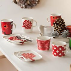 Marimekko, Deco, Afternoon Tea, Sweet Home, Dishes, Mugs, Cool Stuff, Tableware, Koti