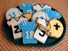 Sport Cookies Made from Ann Clark Cookie Cutters #SportCookies #SportCookieCutters