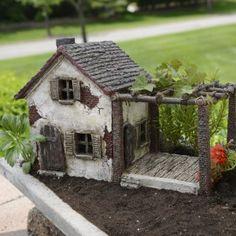 Miniature Garden Summer Cottage