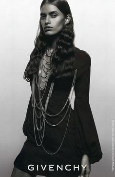 vomitsprada:  Lakshmi Menon for Givenchy Fall Winter 2008 byInez & Vinoodh
