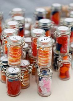 adorable candy wedding favor