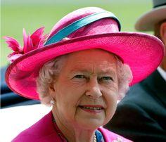 Chapéus há muitos... na versão da Rainha de Inglaterra