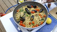 Mary's spaghetti with mussels | Pasta recipes | SBS Food