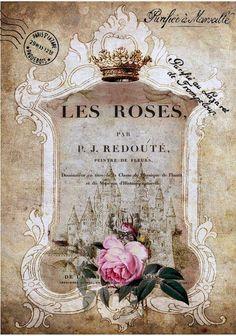 Коллекция картинок: Винтажные коллажы от Belle Sainte Maison