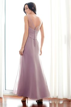 Colour by Kenneth Winston Style 5240 | Dresses can be modified to long or short. #specialoccasion #bridesmaid
